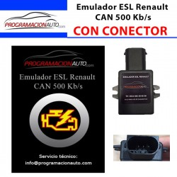 Emulator ESL Renault CAN 500 Kb/s WITH CONNECTOR