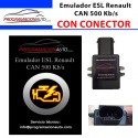 Emulator ESL Renault CAN 500 Kb/s PLUG & PLAY