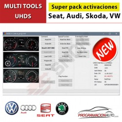 Super Pack de activaciones VW VDO, Continental 2014-... OBD VW0033