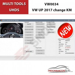 VW0034 VW UP 2017 Cambio KM