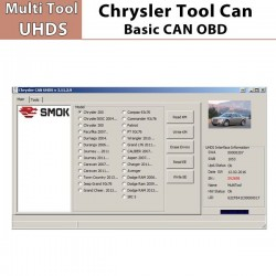 Chrysler Basic CAN OBD para programador Multi Tools UHDS Smok