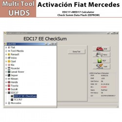 EC 0001 EDC17+MED17 Calculator Check Summ Data Flash (EEPROM)