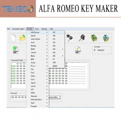 ALFA ROMEO KEY MAKER