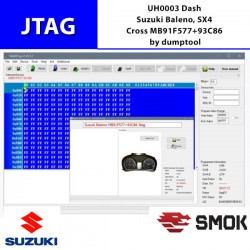 UH0003 Dash Suzuki Baleno, SX4 Cross MB91F577+93C86 by dumptool