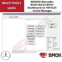 MS0010 Mercedes W447 2014-2017 Tablero 70F3525