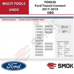 FD0030 Ford Transit Connect 2017-2019 OBD