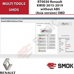 RT0030 Renault KWID 2015-2019 without ABS(Asia version) OBD