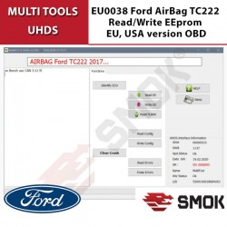 EU0038 Ford AirBag TC222 Read/Write EEprom EU, USA version OBD